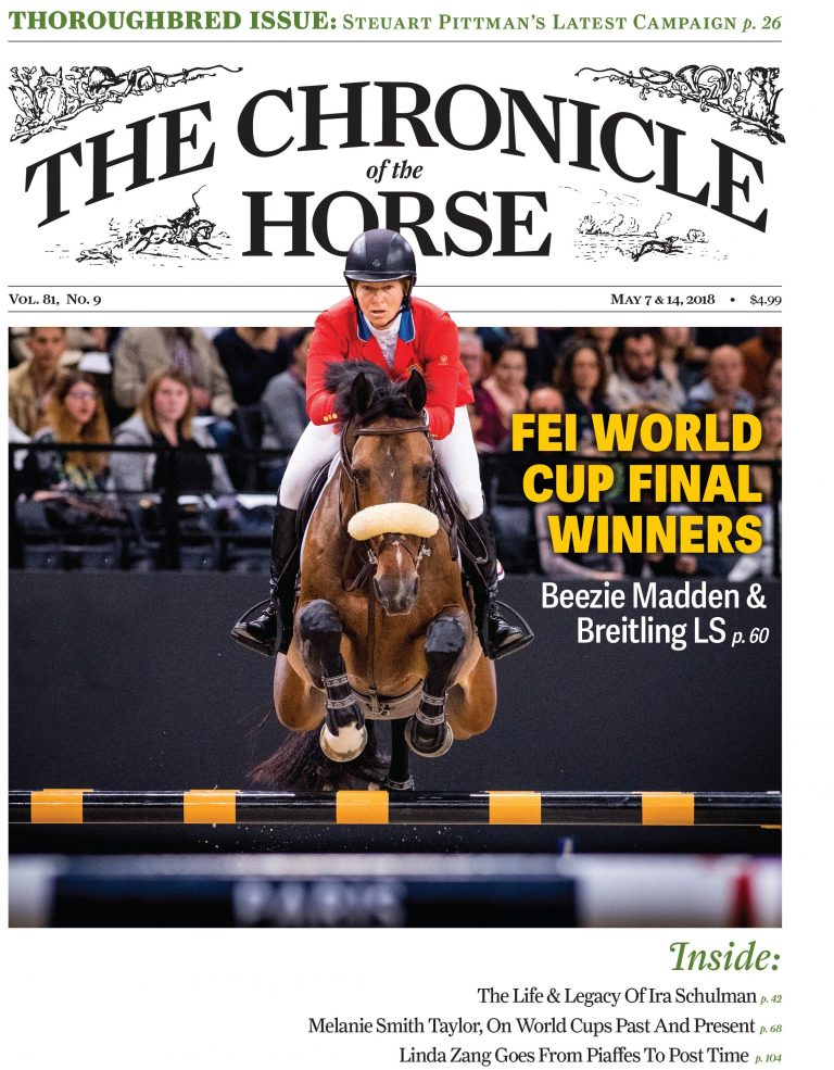 The Chronicle of the Horse Launches Inaugural Thoroughbred Issue